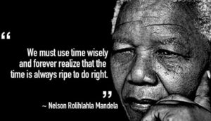 do right - mandela